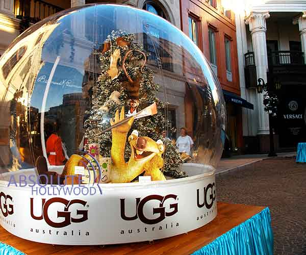 Inflatable large snow globe for people props displays ice age ii launch large snow globe inflatable snow globe gumiabroncs Images