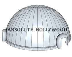 Interactive 360 Video Air Dome Planetarium Inflatable