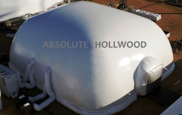 Oblong Video Air Dome Inflatable Venue for Events, 360 Show Dome