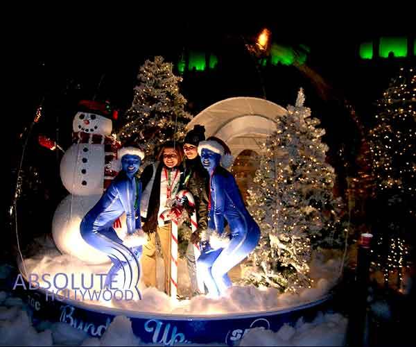 SBC Holiday Large Snow Globe Inflatable Snow Globe