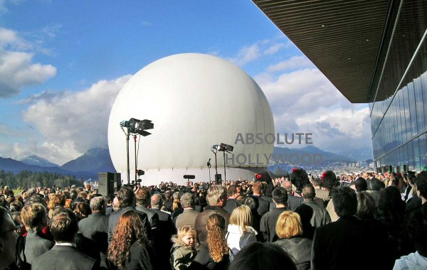 Vancouver Convention Launch with Absolute Hollywood's 360 Video StratoSphere Air Dome Inflatable Venue