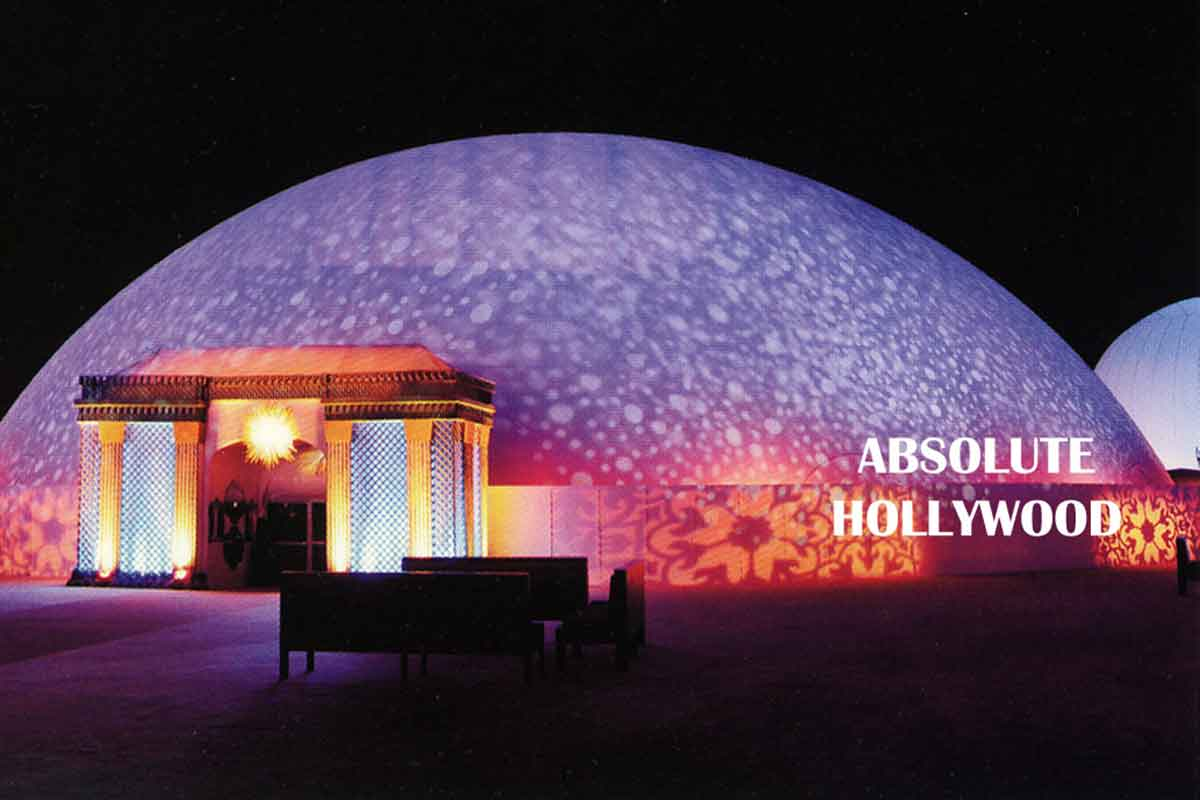 World's Largest Video Dome Air Structure for 360 Immersive Video