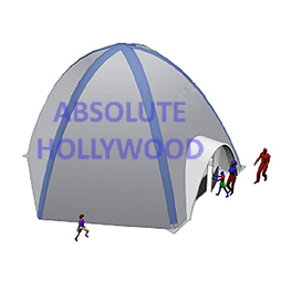 OctaDome, the Inflatable Spider Dome Tent, Spidair Kiosk
