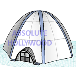 OctaDome, the Inflatable Spider Tent, Spidair Kiosk or Spider Dome