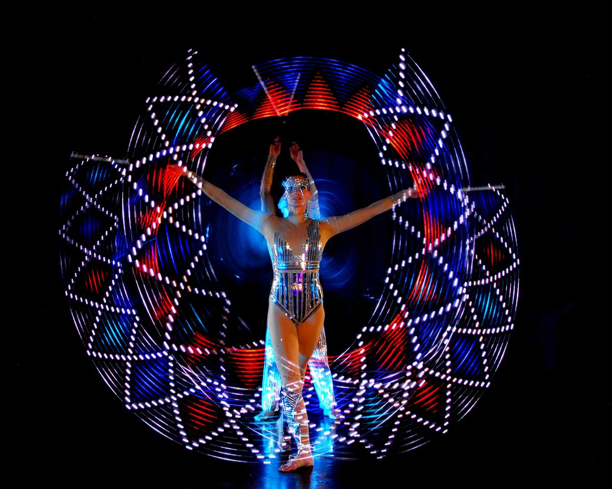 Video Fulldome Show Live Theater 360 Video Projection Dome Show LED Design by Actress Actor