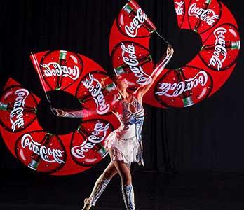 Video Fulldome Show Live Theater 360 Video Corporate Branding in LED Coke
