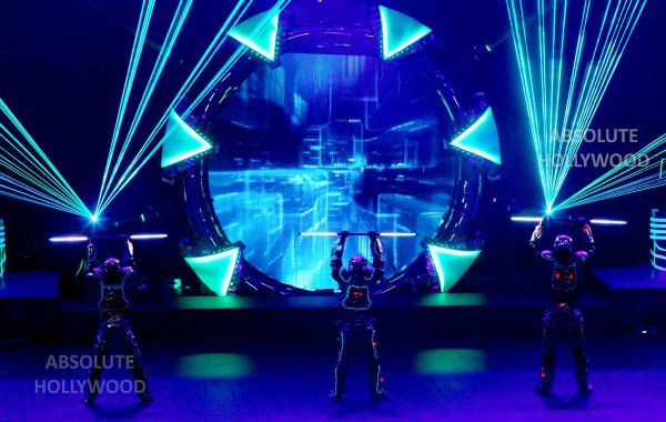 360 Video Fulldome Show Live Theater LED & Laser Dancers