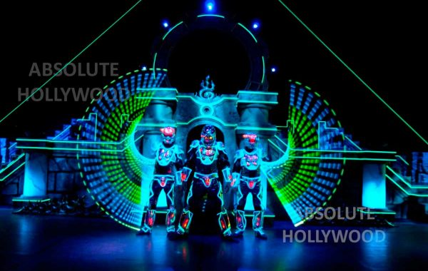360 Video Fulldome Show Live Theater LED & 3 Laser Men