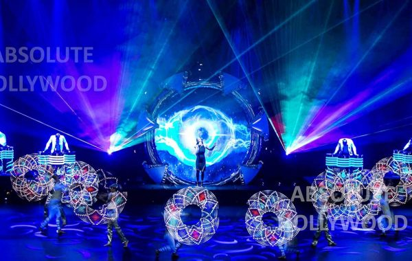 360 Video Fulldome Show Live Theater LED & Laser Group Dancers