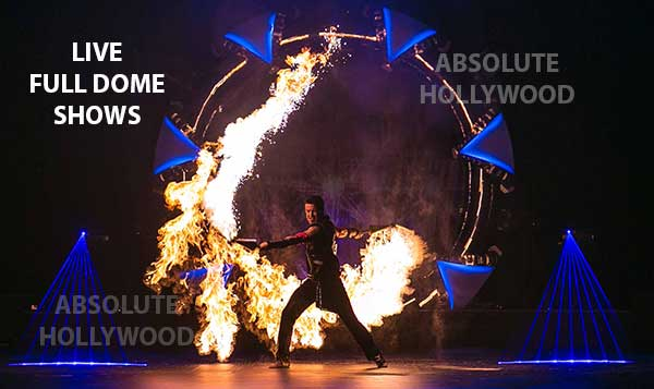 live fulldome video show projection 360 dome shows Phoenix full dome show projection in dome
