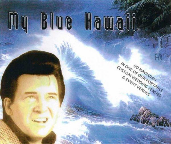 Elvis Presley lookalike impersonator, Elvis Jr, Singer & Performer for Tropical Hawaii Beach Weddings